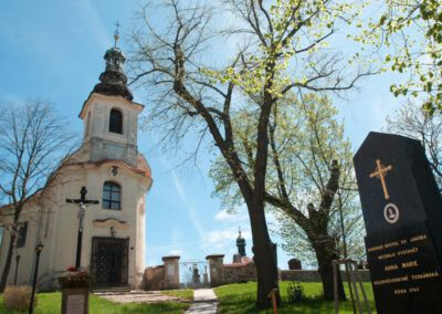 7. Kostel sv. Jakuba Staršího v Tachlovicích