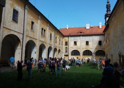 8. Františkánský klášter v Hájku.