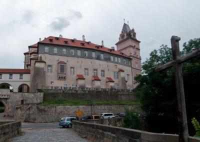 5. Brandýský zámek byl oblíbeným místem Rudolfa II. a dalších českých panovníků